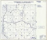 Township 31 N., Range 44 E., Diamond Lake, Lost Lake, Sacheen Lake, Pend Oreille County 1957